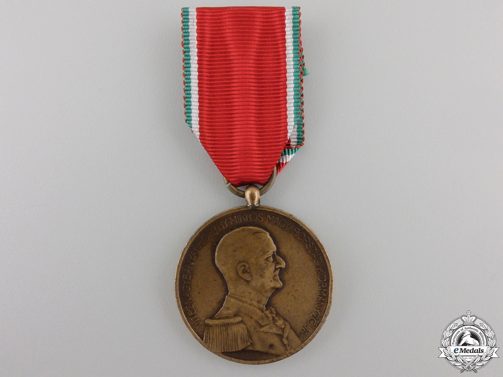 eMedals-A Second War Hungarian Bravery Medal