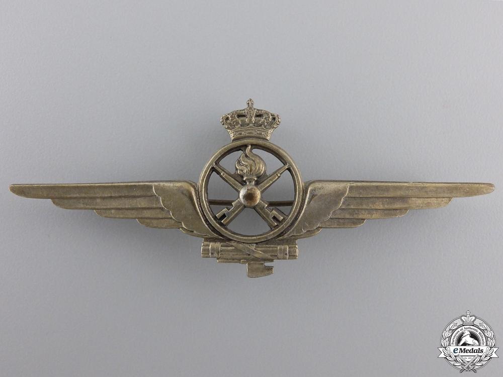 eMedals-A Second War Italian Air Force Armourer Badge
