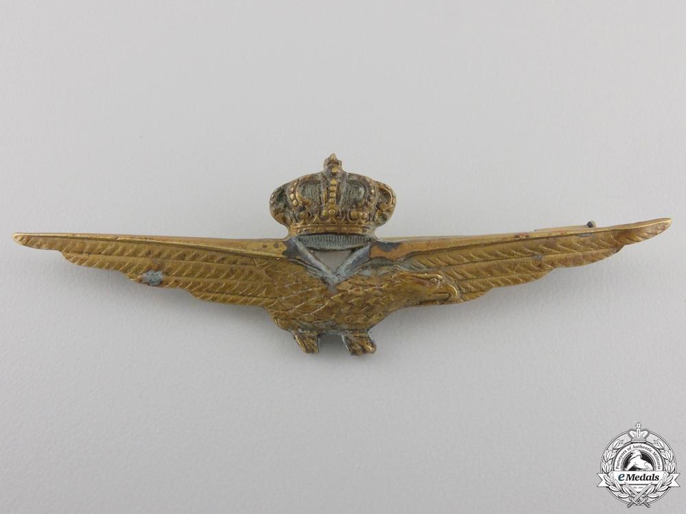 eMedals-A Second War Italian Pilot's Badge