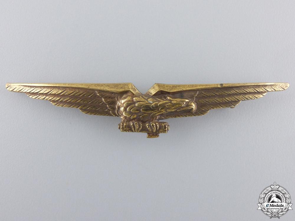eMedals-A Second War Italian Fascists Pilots Badge by Stab.Art.Fidren