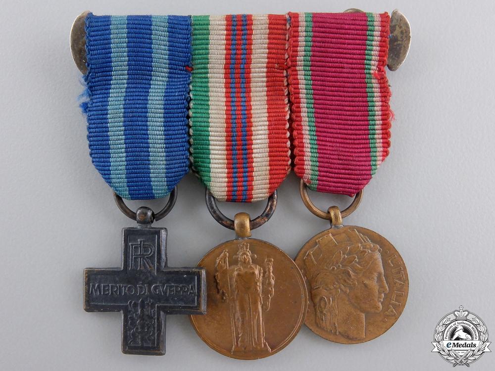 eMedals-A Second War Italian Miniature Group