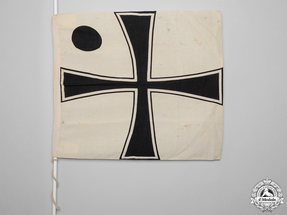 eMedals-A Second War Kreigsmarine Vice Admiral's Flag