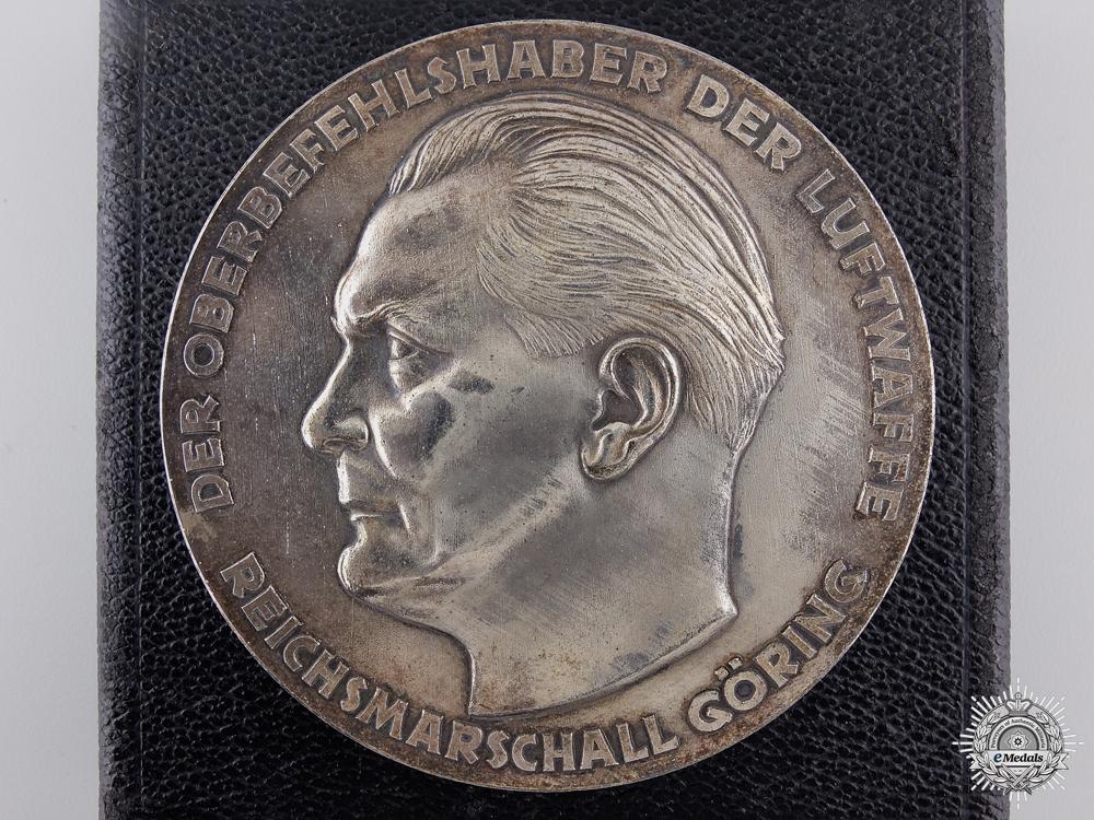 eMedals-A Second War Luftwaffe Achievement Award with Case