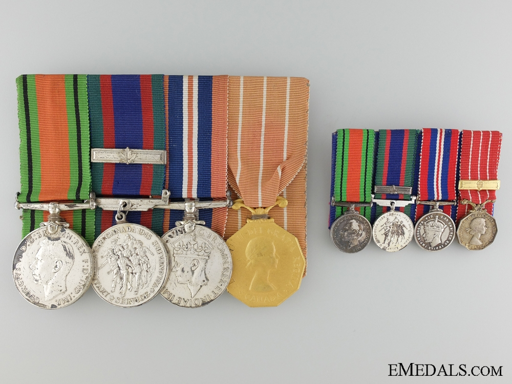 eMedals-A Second War Medal Group to Lieutenant Lausanne