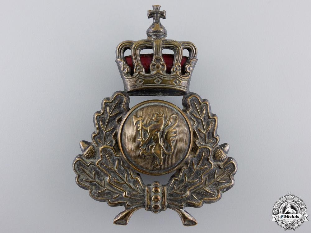 eMedals-A Second War Norwegian Army Cap Badge