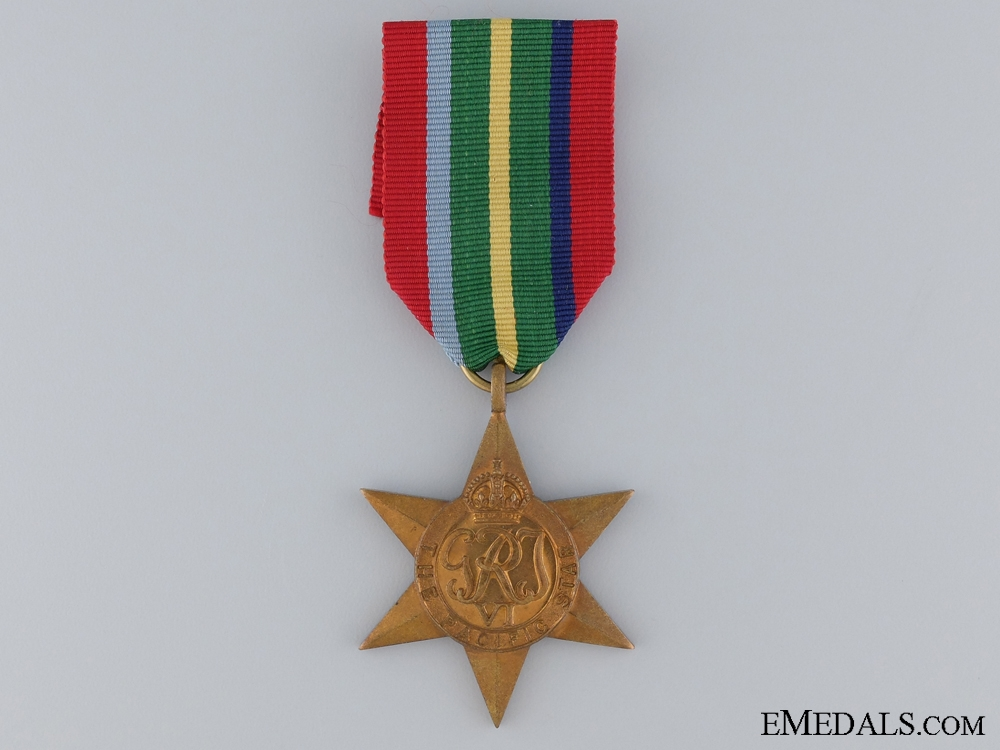 eMedals-A Second War Pacific Star
