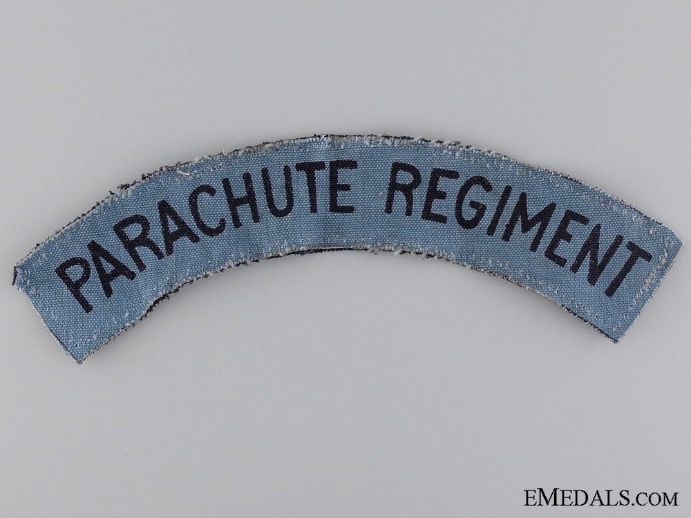 eMedals-A Second War Parachute Regiment Shoulder Flash