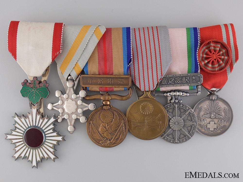 eMedals-A Second War Period Japanese Medal Bar