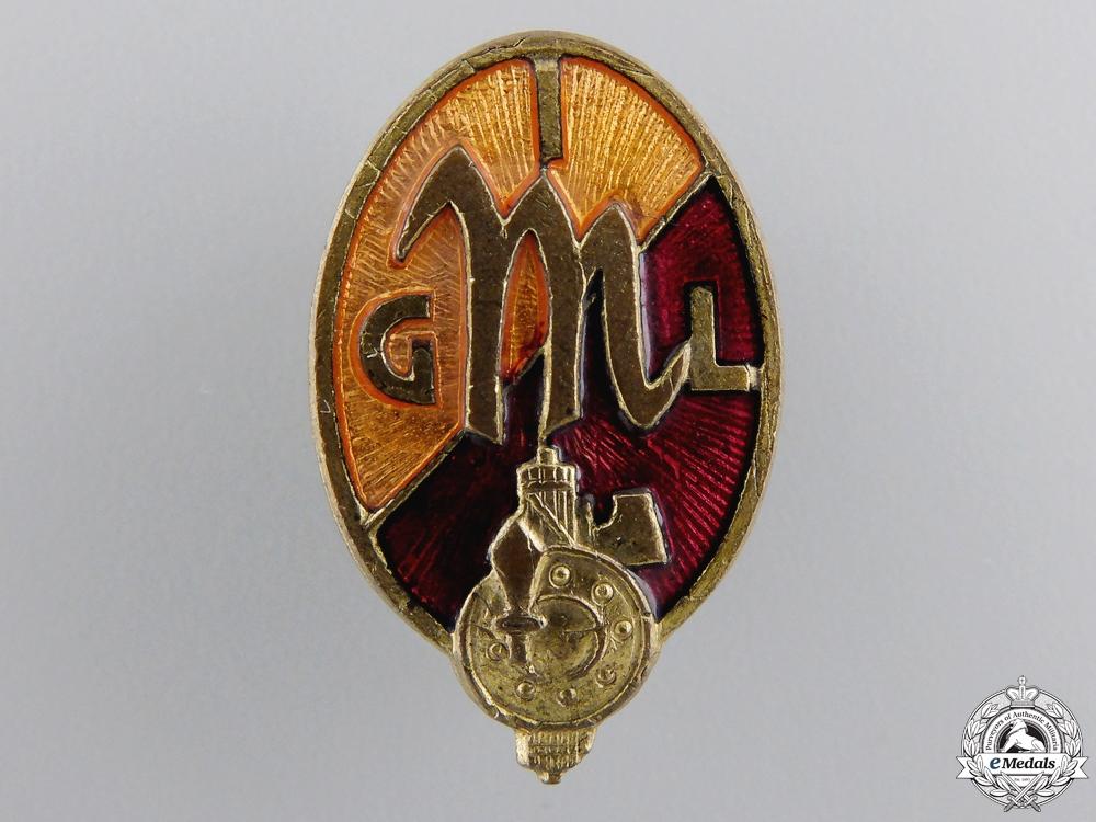 eMedals-A Second War Period Italian CIL Membership Badge