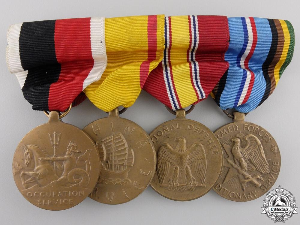 eMedals-A Second War Period American Medal Bar