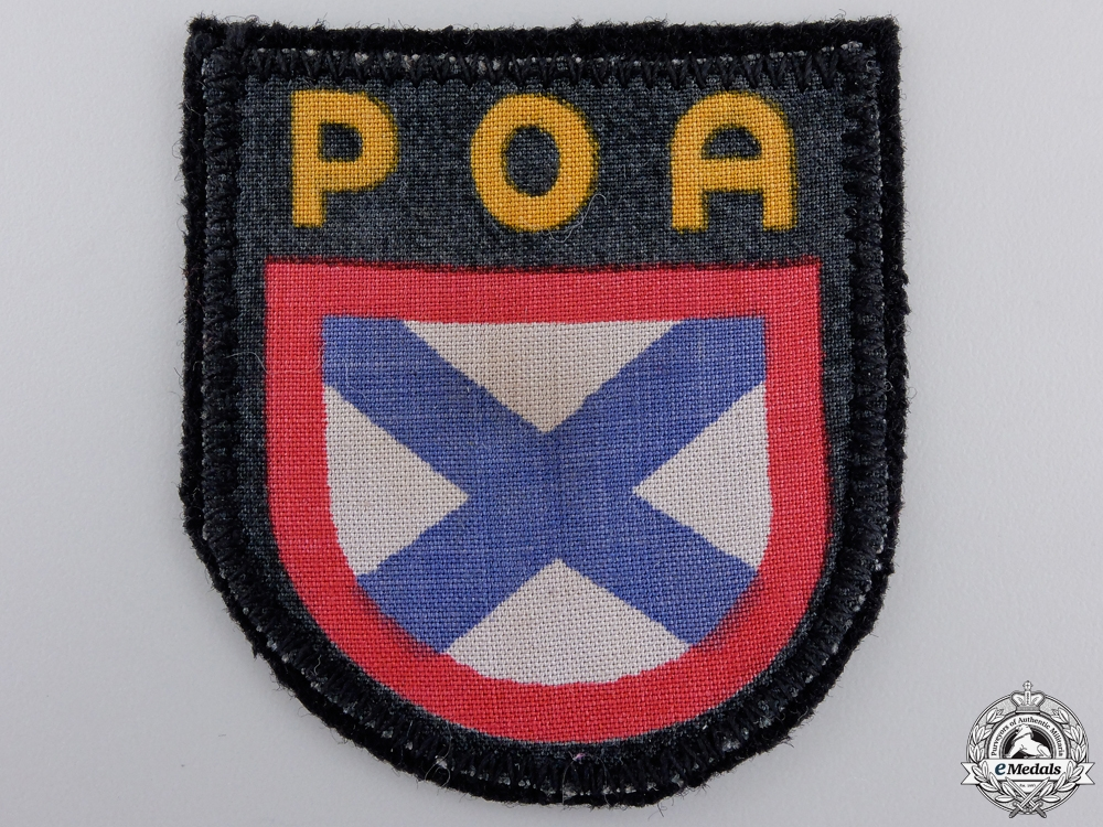 eMedals-A Second War POA Foreign Volunteer Shield
