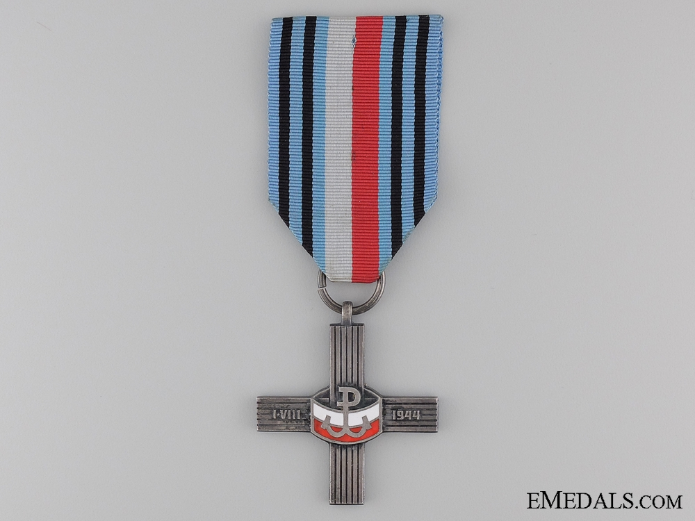 eMedals-A Second War Polish Warsaw Uprising Cross