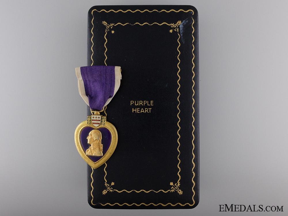 eMedals-A Second War Purple Heart; Named