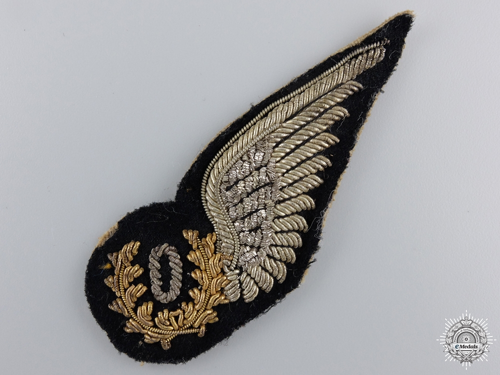 eMedals-A Second War RAF Officers Observer Wing