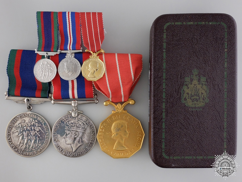 eMedals-A Second War RCAF Medal Group to Squadron Leader MacDonald
