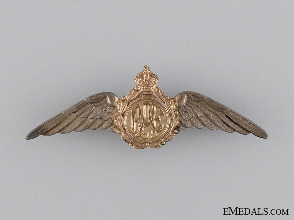 eMedals-A Second War Royal Air Force Sweetheart Wings