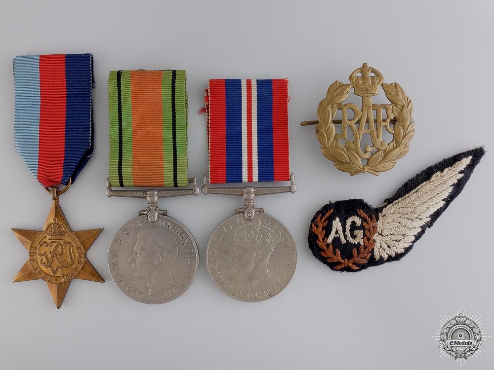 eMedals-A Second War Royal Air Force (RAF) Air Gunner's (AG) Group