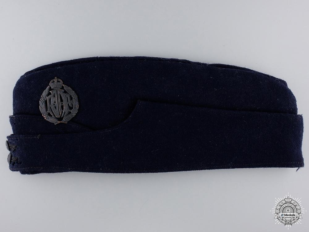 eMedals-A Second War Royal Australian Air Force (RAAF) Side Cap