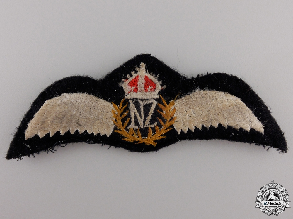 eMedals-A Second War Royal New Zealand Pilots Wing