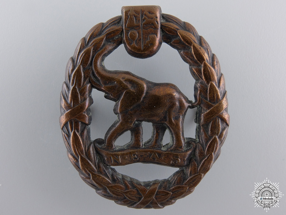 eMedals-A Second War South African Native Military Corps Cap Badge
