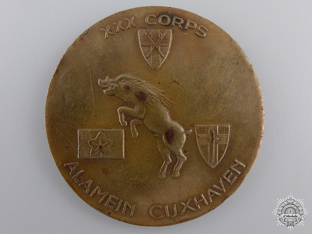 eMedals-A Second War XXX Corps Commemorative Medal