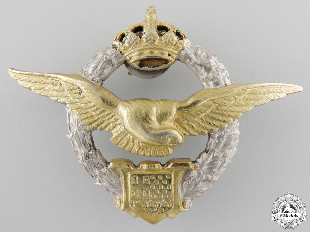eMedals-A Second War Yugoslavian Pilot's Badge