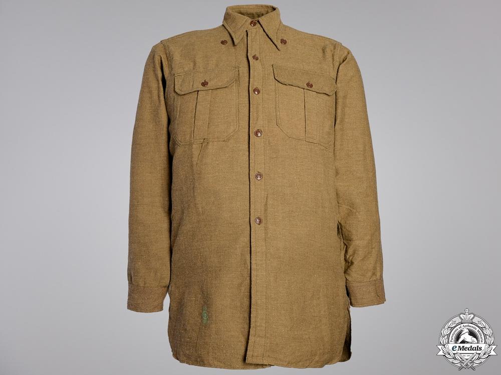 eMedals-A Second World War Canadian Field Shirt; Winter Version  Consignment #16