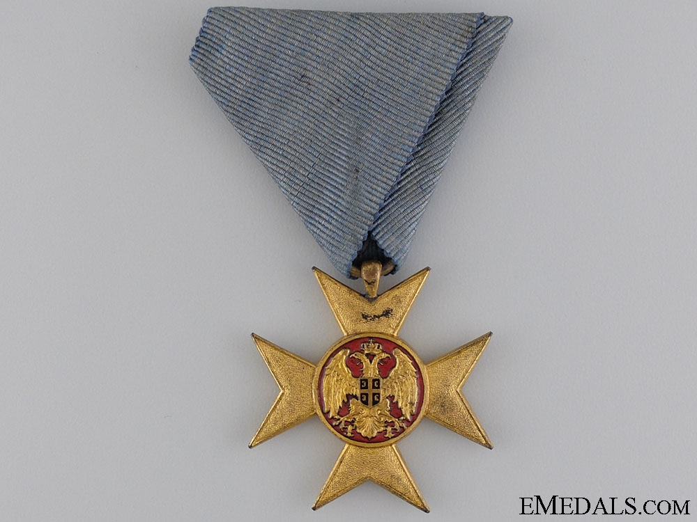 eMedals-A Serbian Cross of Charity or Mercy 1912
