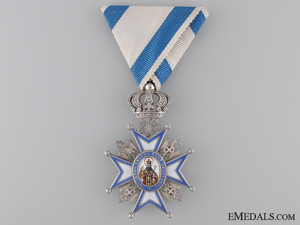 eMedals-A Serbian Order of St. Sava; 5th Class 1904-1914