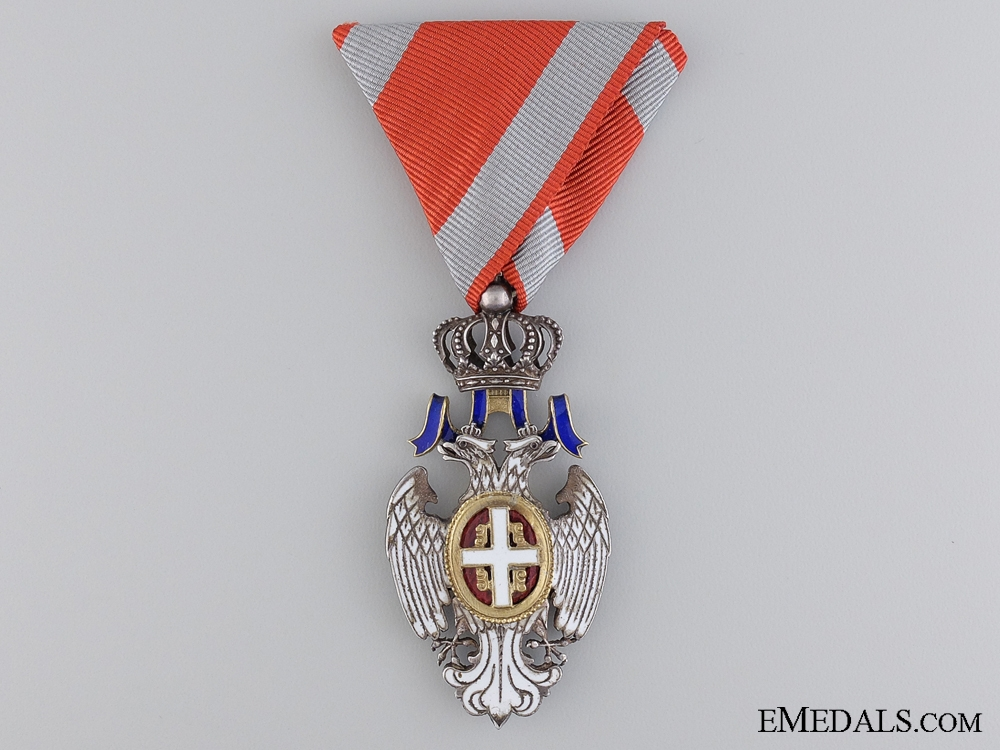 eMedals-A Serbian Order of the White Eagle; Knight