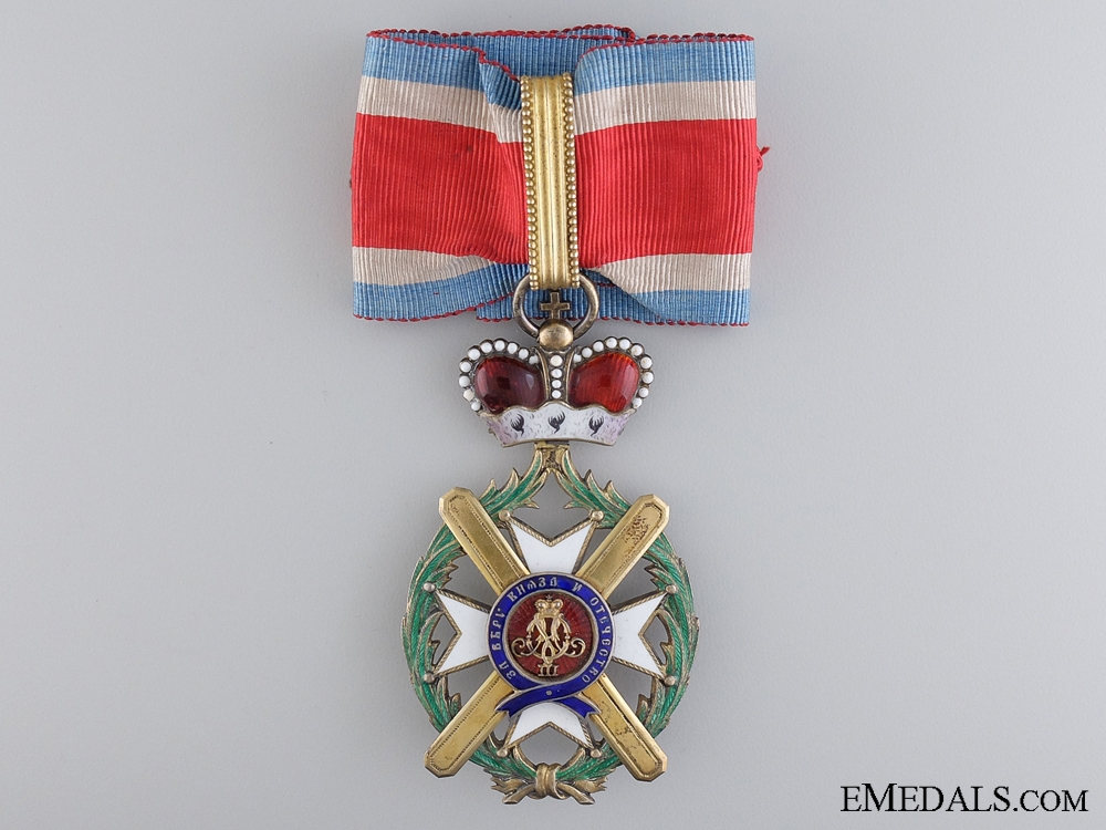 eMedals-A Serbian Order of Takovo, Commander's Cross