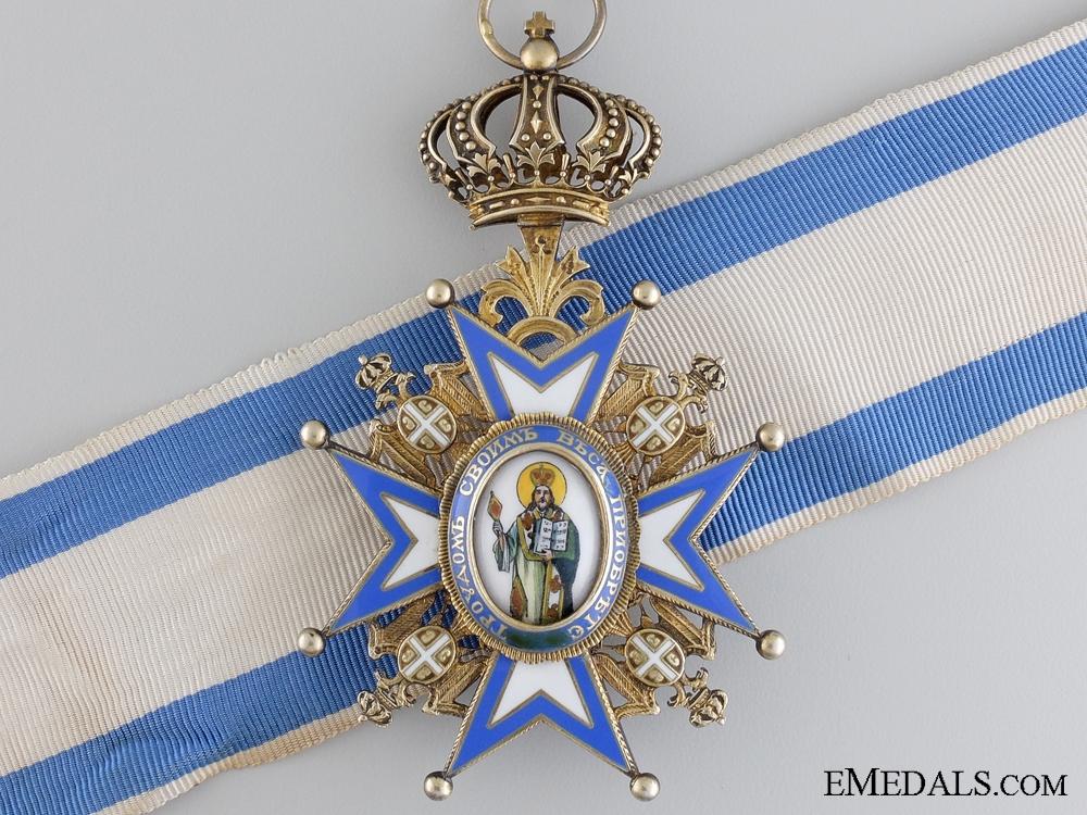 eMedals-A Serbian Order of St.Sava; Commander Third Class
