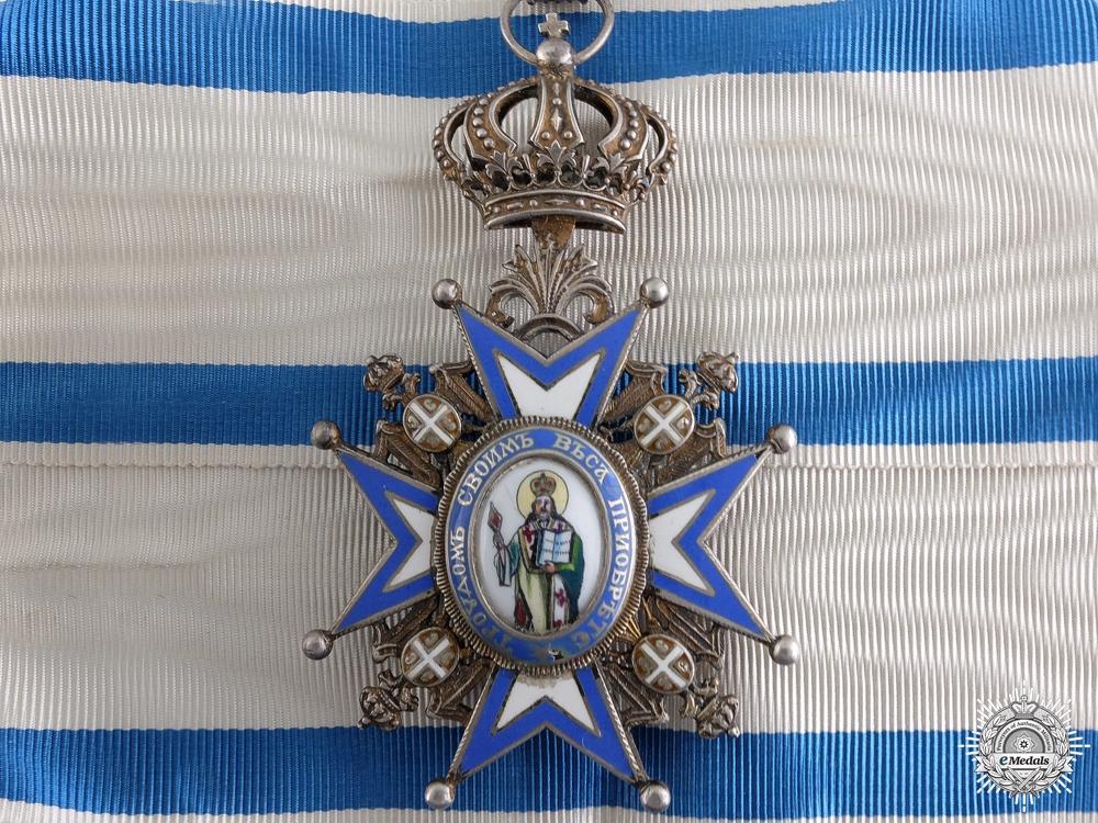 eMedals-A Serbian Order of St.Sava; Third Class Neck Badge