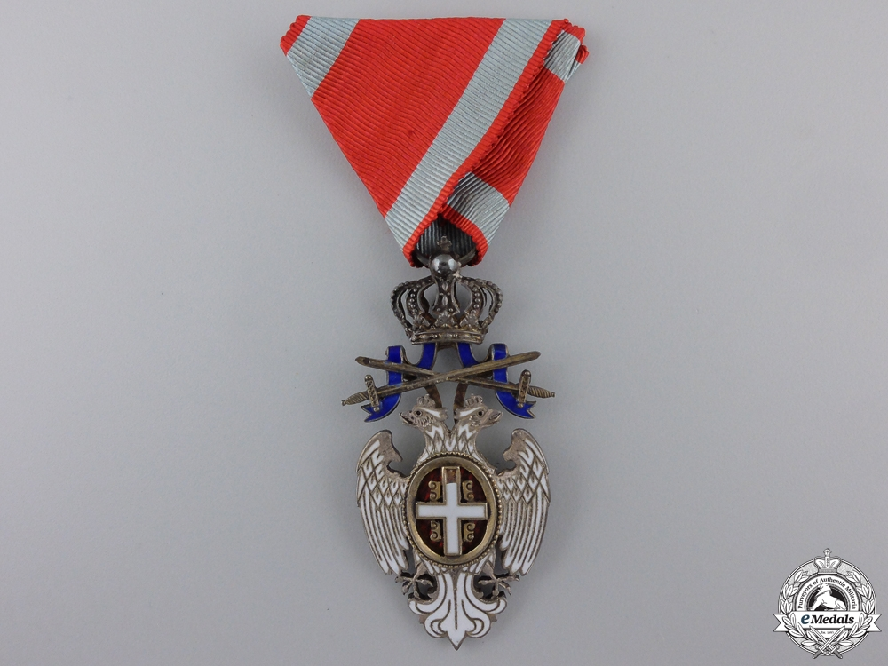 eMedals-A Serbian Order of the White Eagle; Knight with Swords