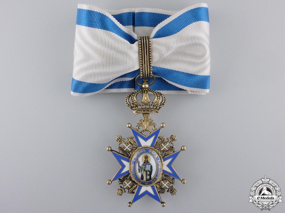 eMedals-A Serbian Order of St. Sava; 3rd Class Commander Cross