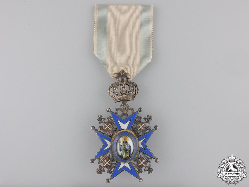 eMedals-A Serbian Order of St. Sava; 5th Class by Huguenin