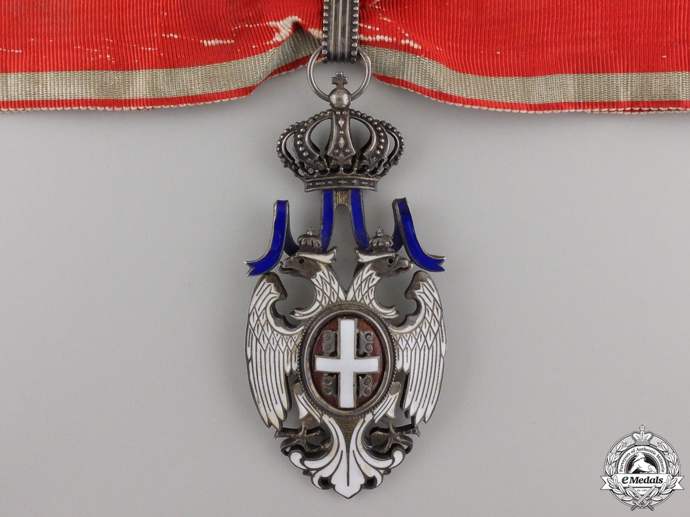 eMedals-A Serbian Order of the White Eagle; Third Class Commander