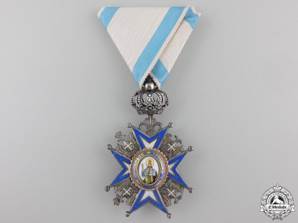 eMedals-A Serbian Order of St. Sava; 5th Class Knight