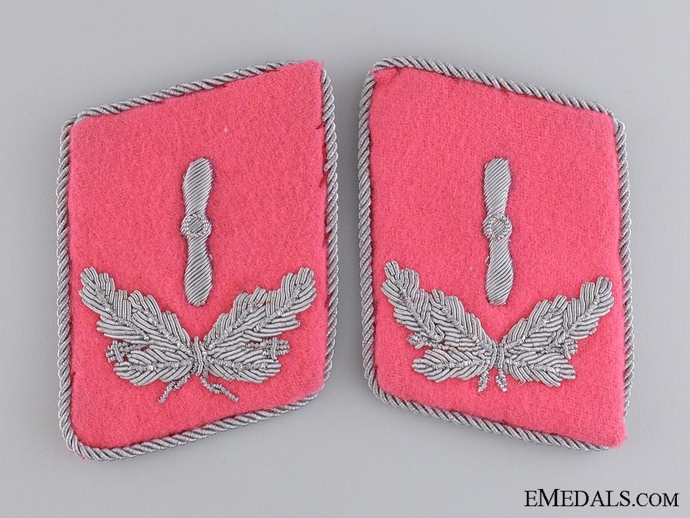 eMedals-A Set of Luftwaffe Flight Engineer Collar Tabs