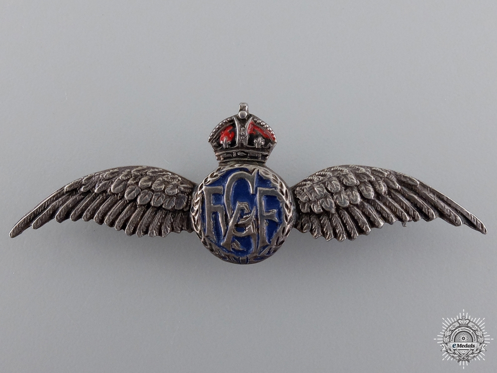 eMedals-A Set of Second War Royal Canadian Air Force (RCAF) Wings