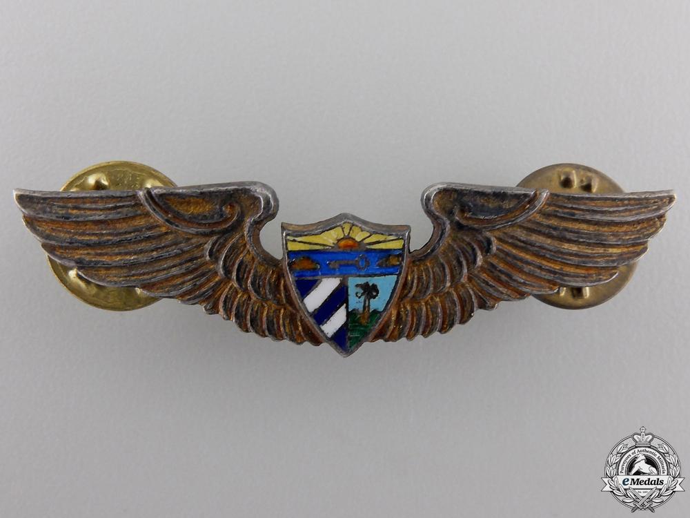 eMedals-A Set of Second War Cuban Air Force Pilot's Wings