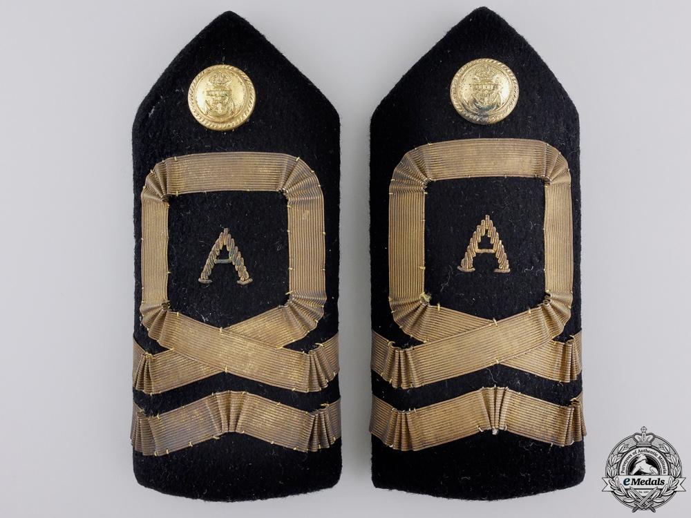 eMedals-A Set of Second War Royal Naval Air Service Shoulder Boards