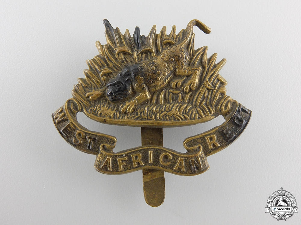 eMedals-A Sierra Leone West African Regiment Cap Badge