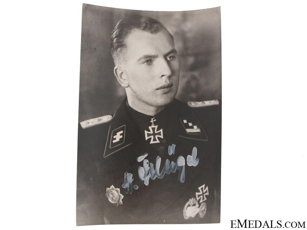 eMedals-A Signed SS Knights Cross Winner Photograph