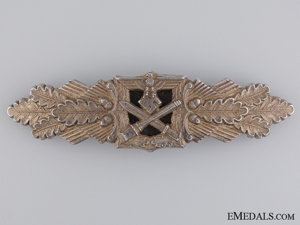 eMedals-A Silver Grade Close Combat Clasp by F & B L
