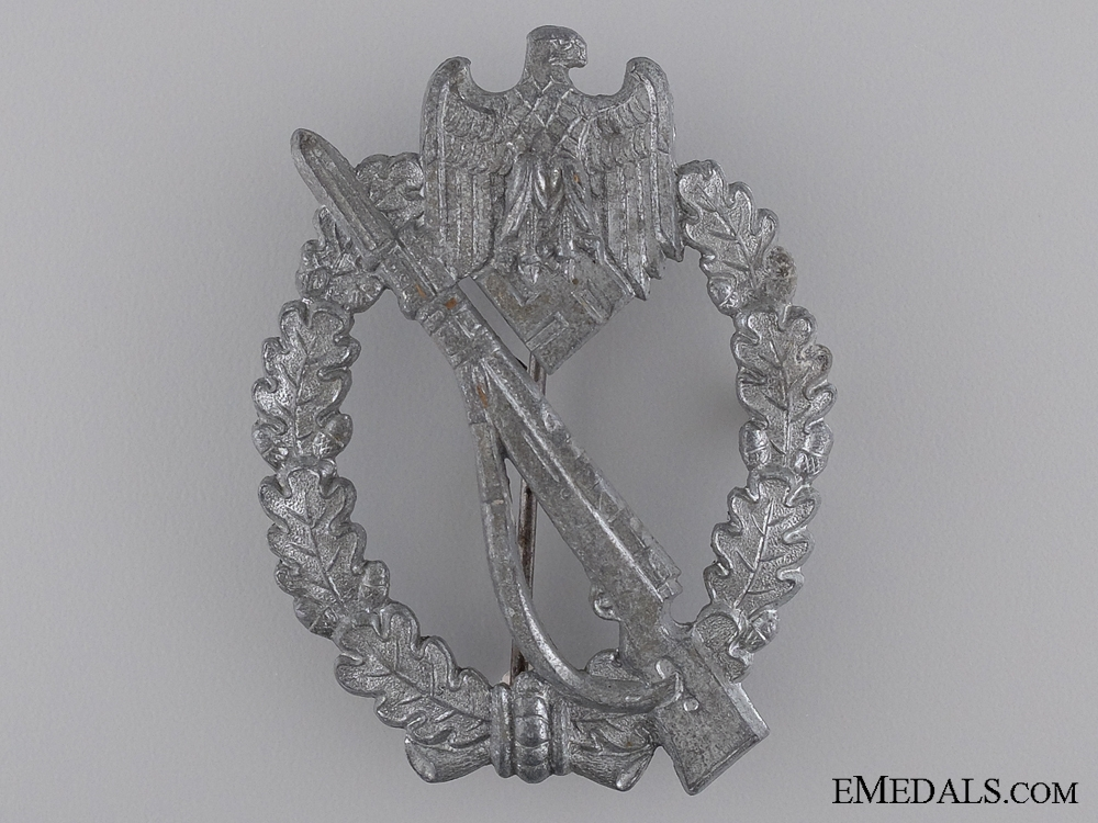 eMedals-A Silver Grade Infantry Assault Badge