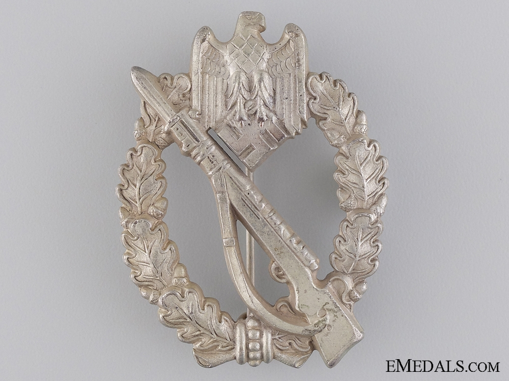 eMedals-A Silver Grade Infantry Badge by S.H.u.Co. 41