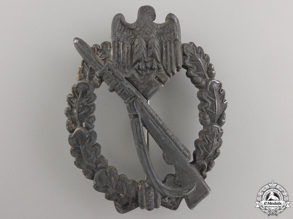 eMedals-A Silver Grade Infantry Assault Badge by Richard Simm & Söhn