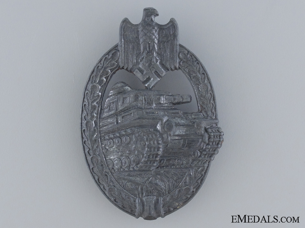 eMedals-A Silver Grade Tank Badge by SA