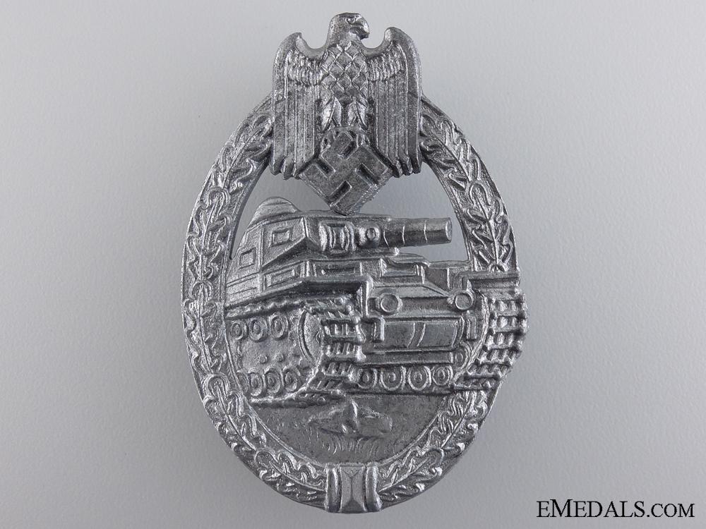 eMedals-A Silver Grade Tank Badge by F. Wiedmann